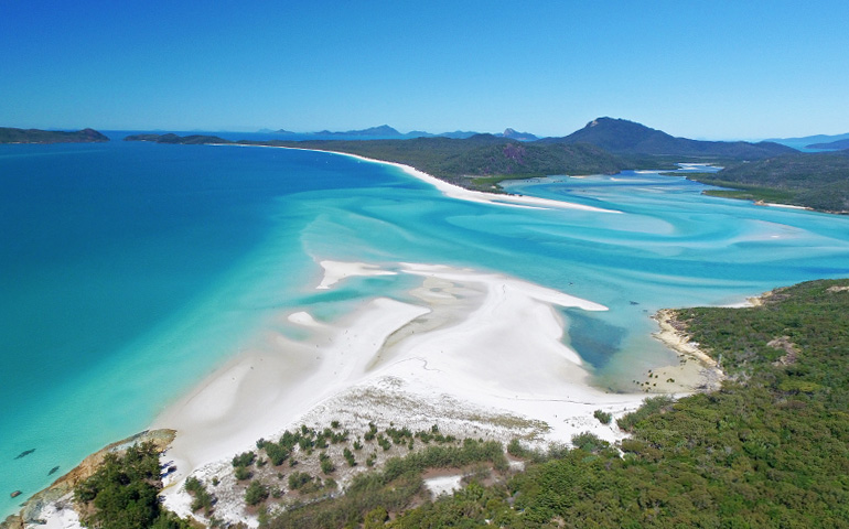 Hill Inlet on Whitsunday Island